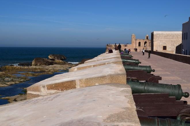 Marrocos Essaouira muralhas 3