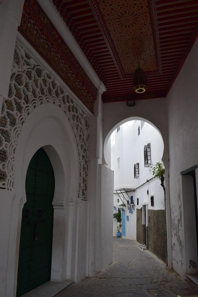 Marrocos Tangier medina porta