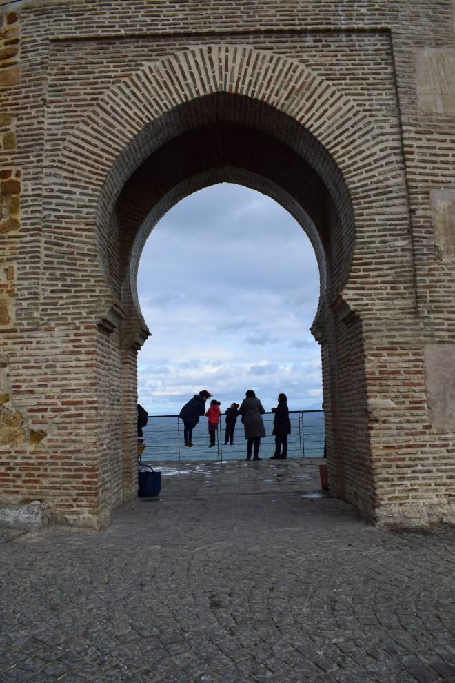 Marrocos Tangier vista para a Espanha