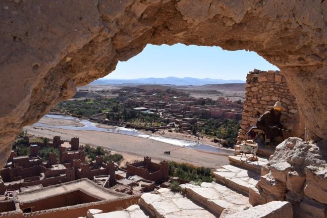 Ait Ben Haddou sul marrocos cantor
