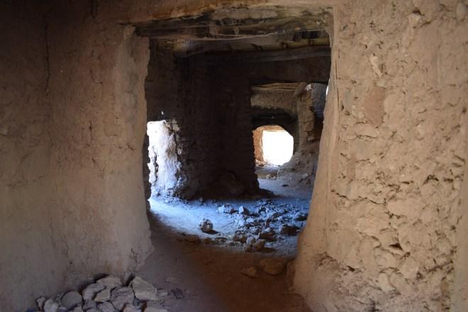Ait Ben Haddou sul marrocos casas abandonadas
