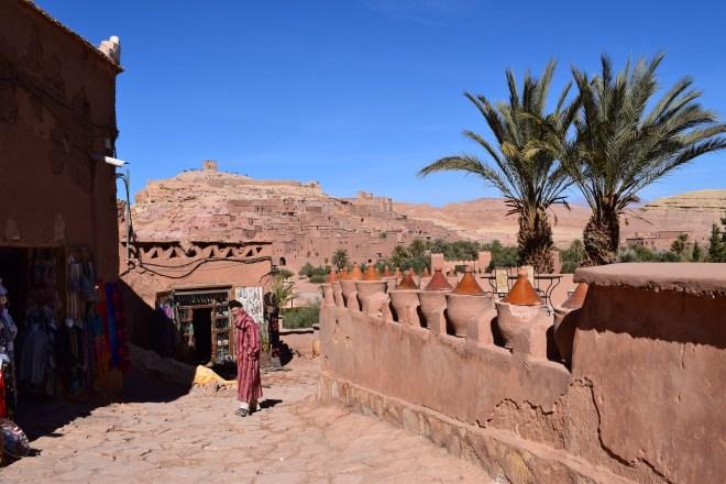 Ait Ben Haddou sul marrocos cidade nova
