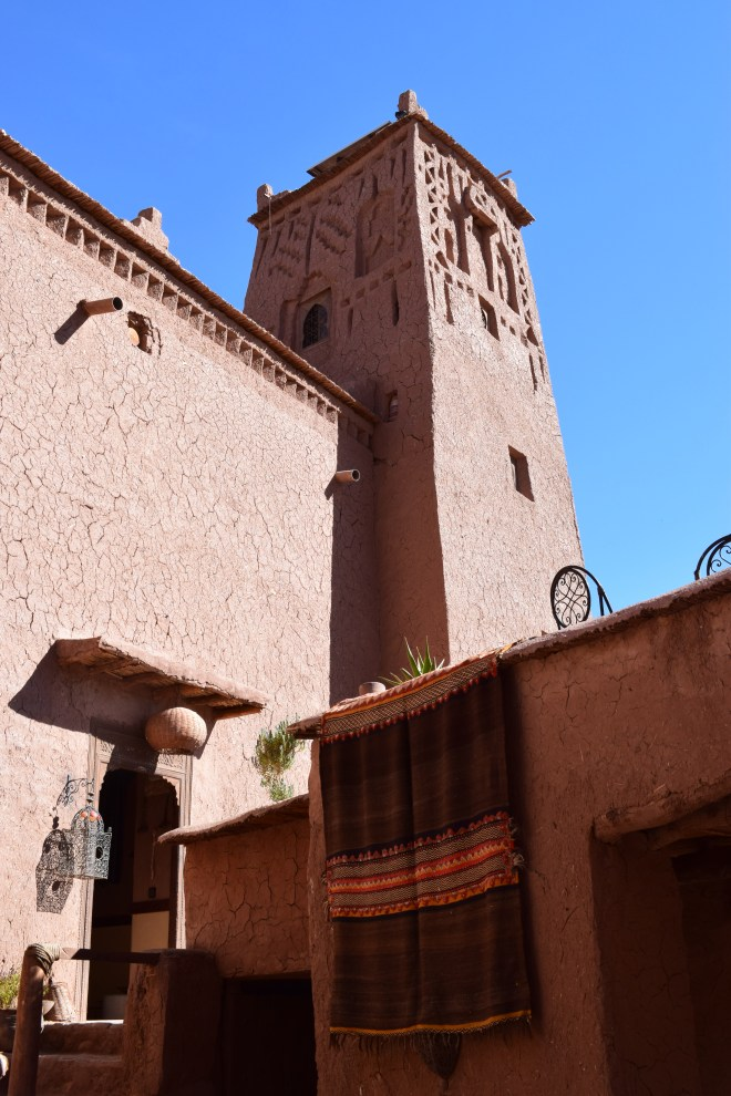 Ait Ben Haddou sul marrocos torre