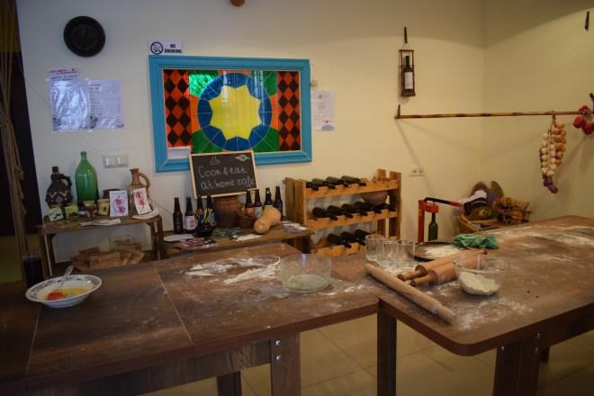 Geórgia Aula de culinária pratos típicos chakandrila