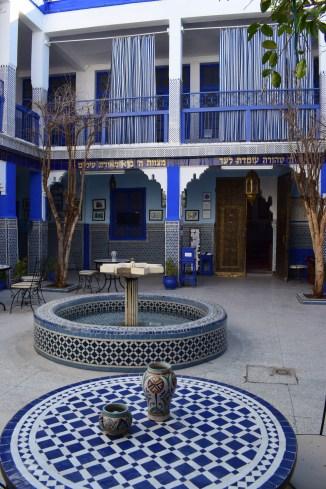 Marrakech medina museu judaico sinagoga el azama 1