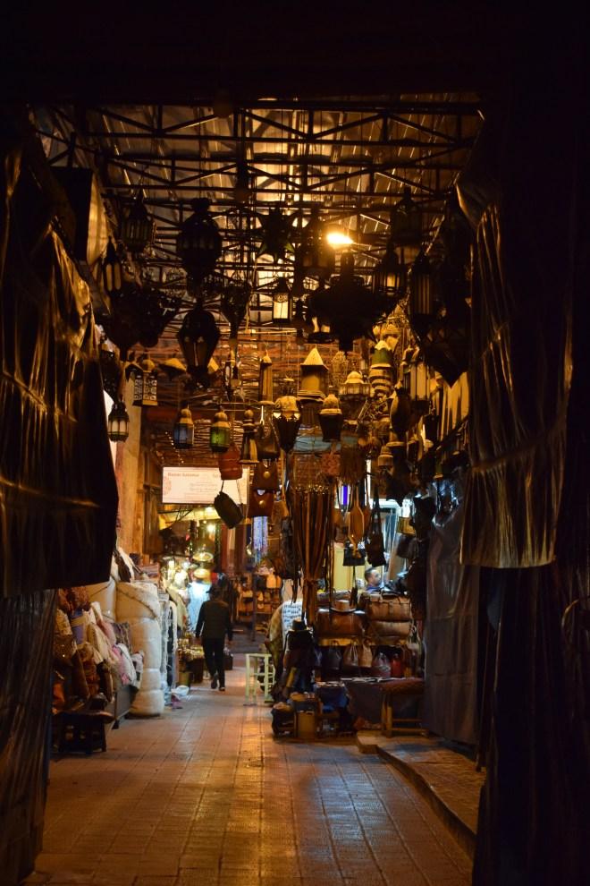 Marrakech medina souqs ruas 2