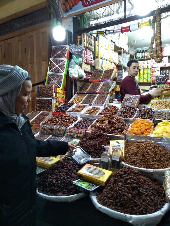 Marrocos aula culinária café clock visita ao mercado