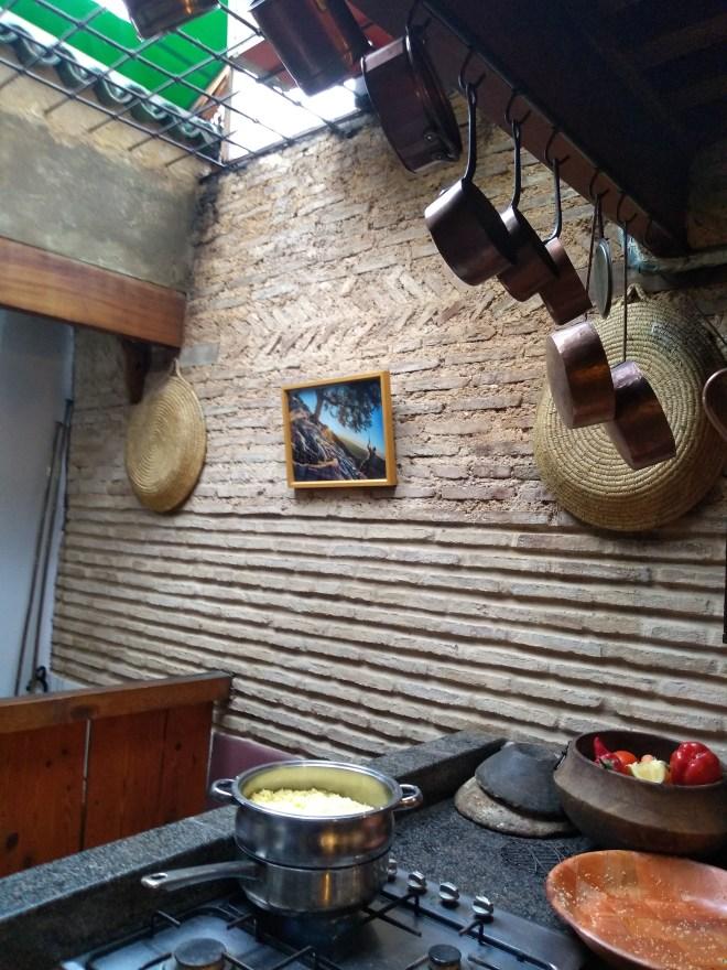 Marrocos aula de culinária Café Clock cuscus