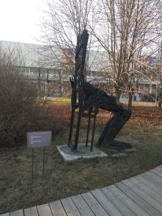 Moscou Parque muzeon esculturas moderna