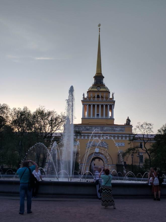Petersburgo avenida nevski almirantado