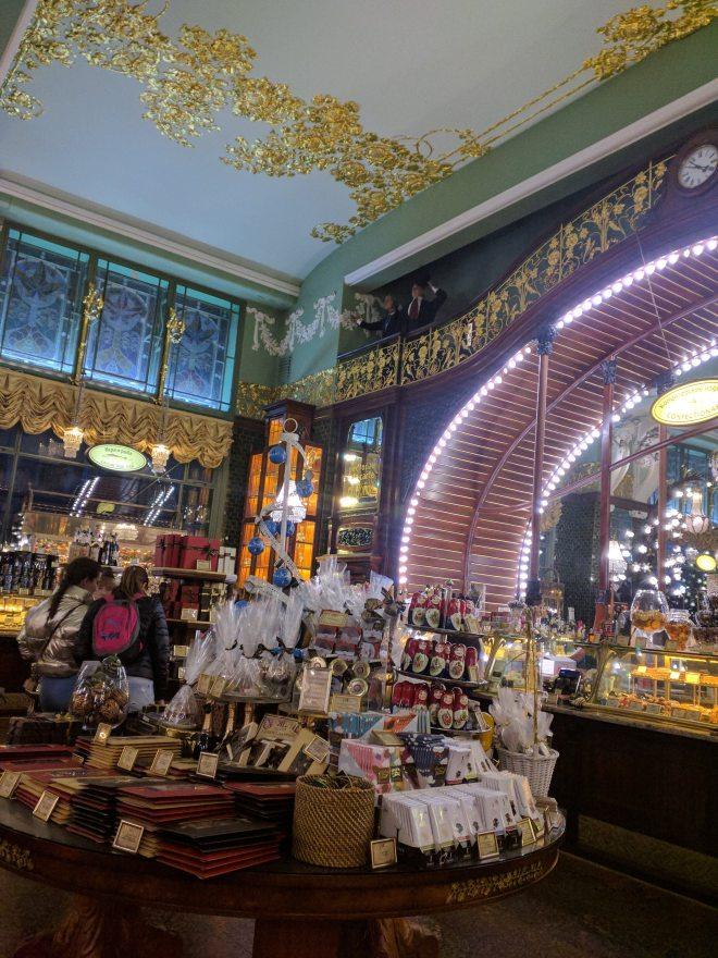 Petersburgo avenida nevski emporio eliseev loja gourmet art nouveau