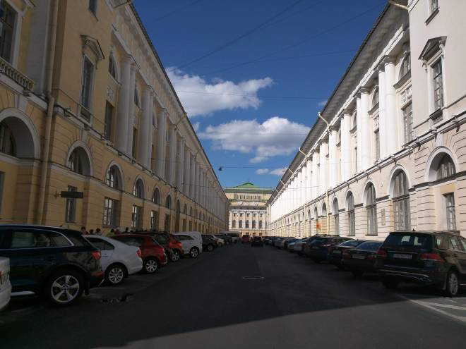 Petersburgo avenida nevski rua engenheiro rossi