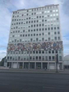 Berlim Karl Marx Allee bairro arquitetura reconstrução 1