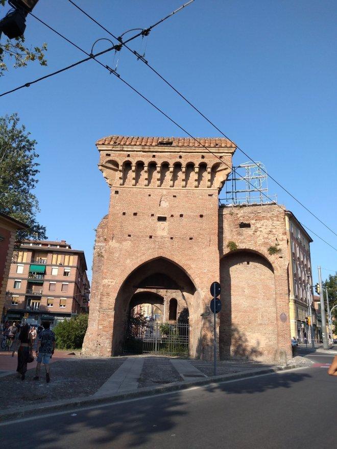 Bologna muros medievais Porta san donato