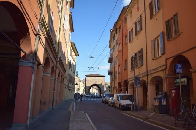 Bologna muros medievais Porta san vitale