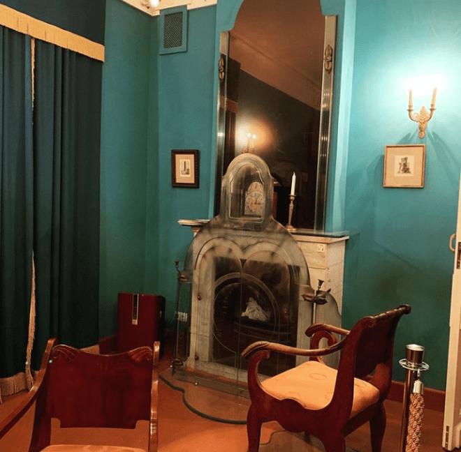 Moscou casa de gogol viagem literaria russa lareira onde ele queimou almas mortas