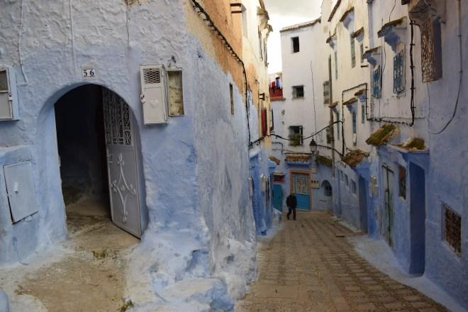 Marrocos Chefhaouen cidade azul ruas 1