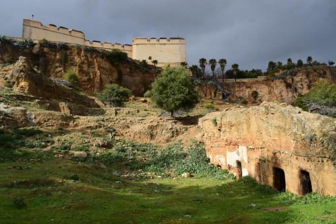 Marrocos Fez fortaleza vista borj nord
