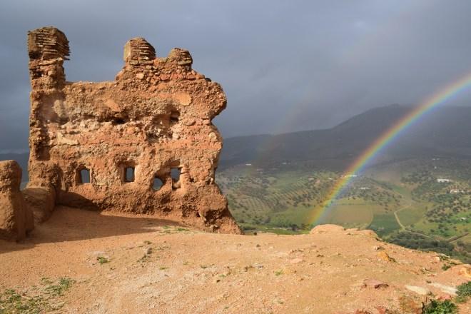Marrocos Fez tumulos saadianos arco iris