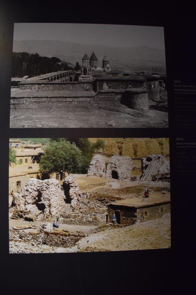 Armênia yerevan memorial genocídio patrimonio destruido