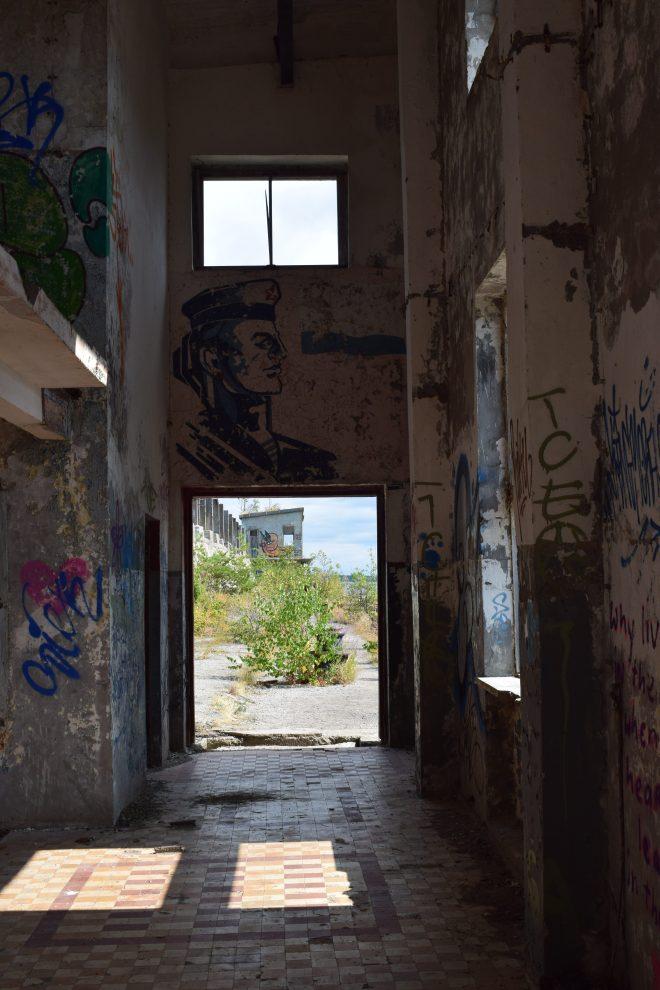 Estonia estação submarinos abandonada Hara 3