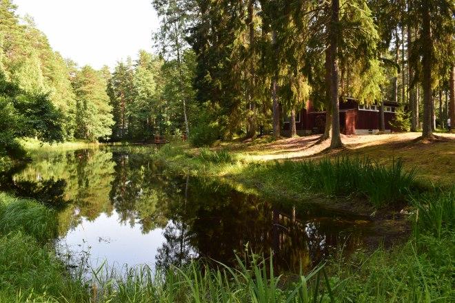 Excursão lazer soviético estonia condominio bosque