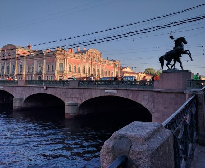 Petersburgo canais pontes anichkov