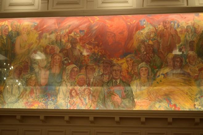 Tallinn museu nacional estoniano sala pinturas sovieticas 2