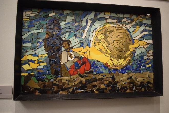 Yerevan casa museu cineasta Parajanov mosaico