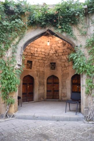 Baku caravansarai rota da seda 2