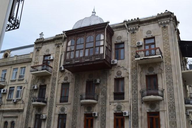 Baku centro historico varanda 2