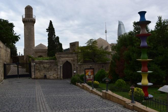 Baku palácio Shirvanshah entrada 2