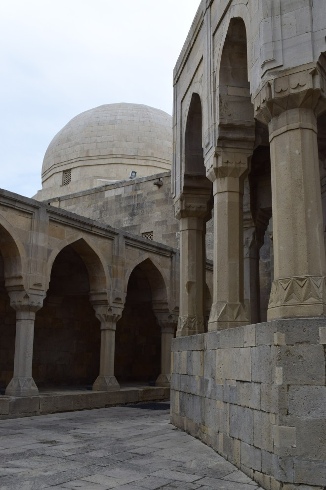 Baku palácio Shirvanshah Mausoleu sufi
