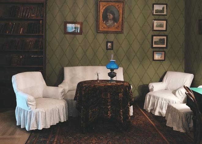 Casa museu Tchekhov moscou salas mantidas como eram