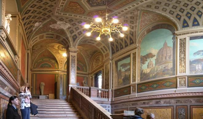 Petersburgo bairro Smolni escola artes decorativas Stieglitz reprodução vaticano