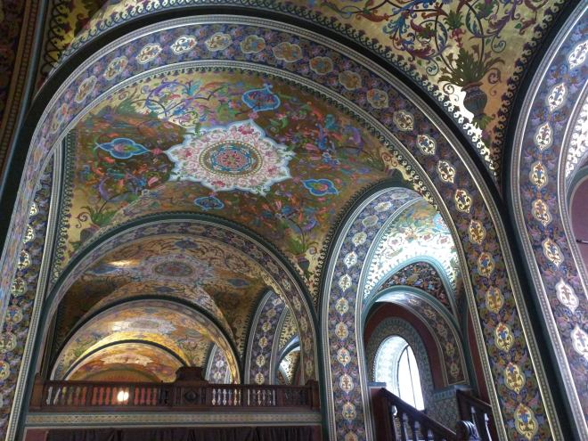 Petersburgo bairro Smolni stieglitz sala medieval russa terem