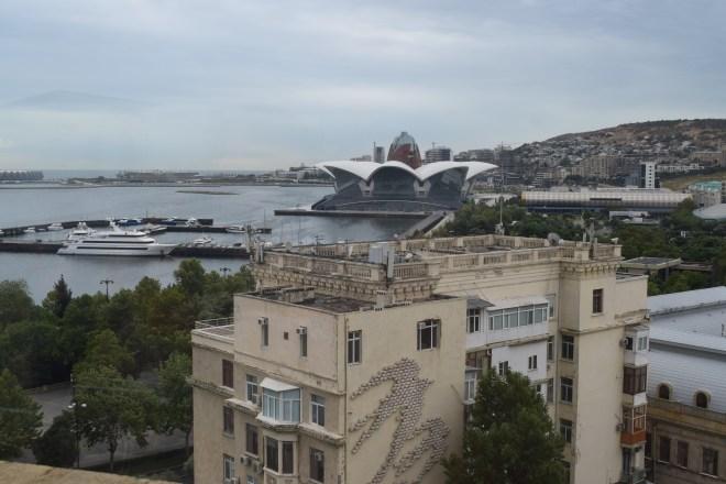 Torre da donzela vista Baku 1