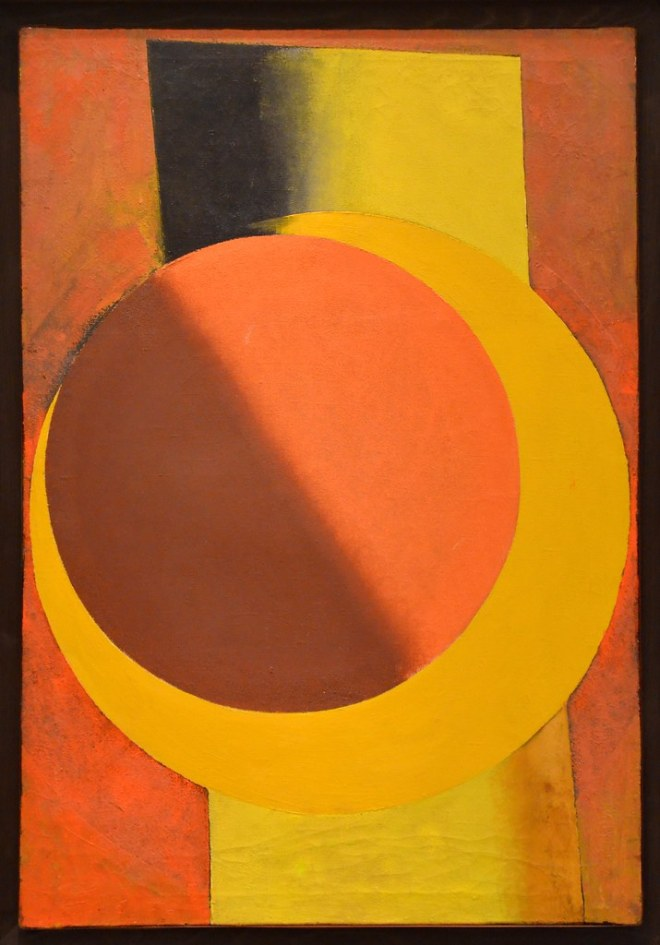 Red and Yellow, Alexander Rodchenko, 1918(?)