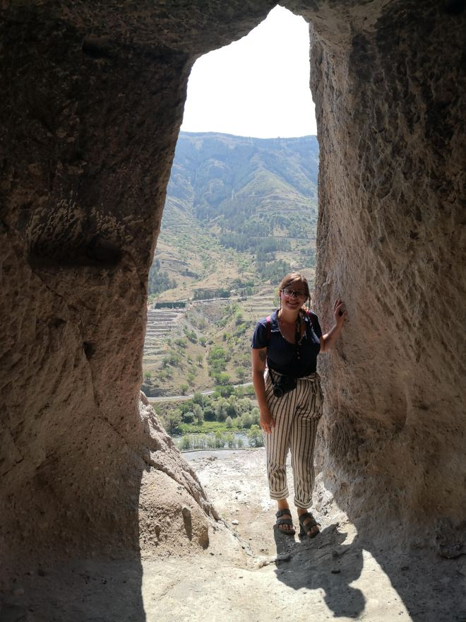 Vardzia monastério caverna 2