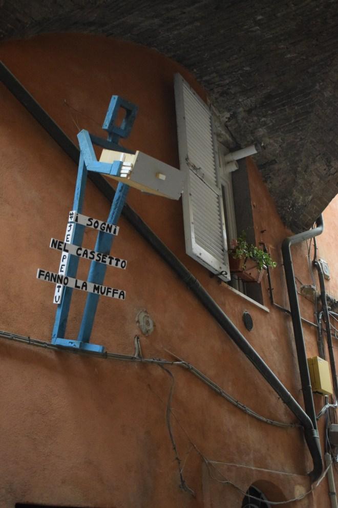 Perugia arte moderna rua 1