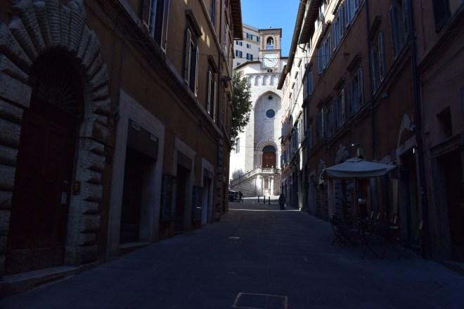 Perugia igreja branca