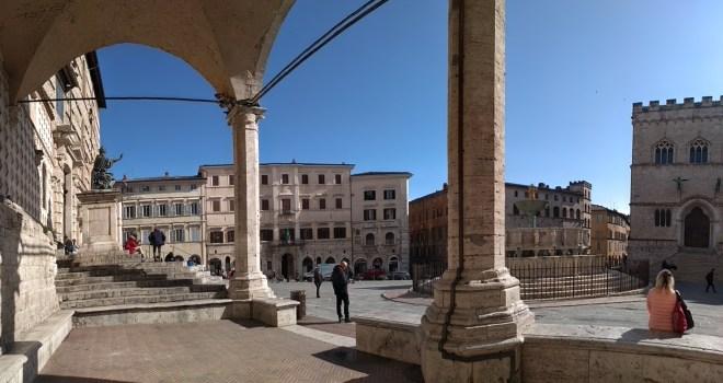 Perugia praça principal