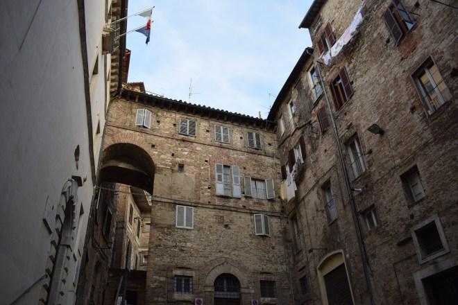 Perugia predios medievais