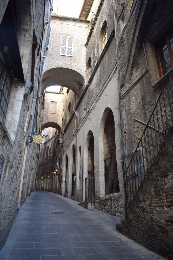 Perugia ruas medievais