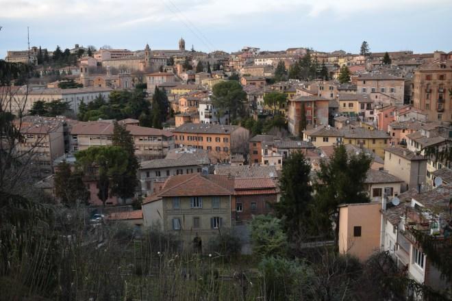 Perugia vista das muralhas