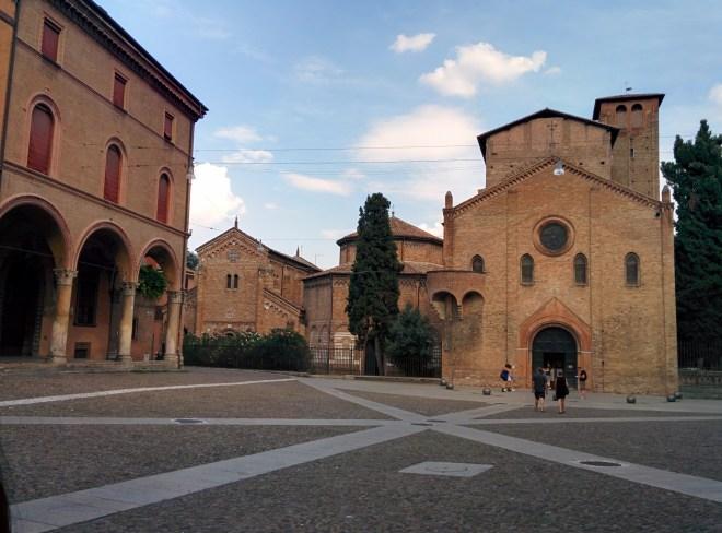 Praça Santo Stefano as sete igrejas sette chiese