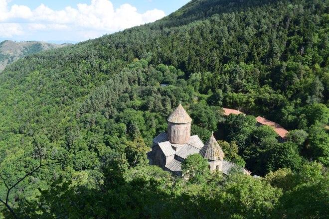 Akhaltsikhe monasterio sapara estrada 3