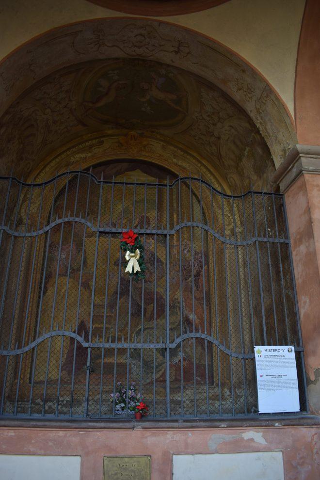 Bologna estrada porticos igreja san luca capela