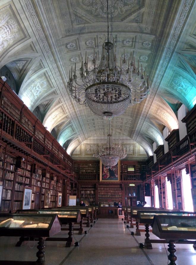 Milão visitar pinacoteca brera biblioteca