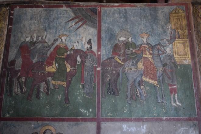 Georgia Mtskheta catedral Svetitskhoveli afrescos medievais 2